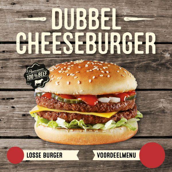 Dubbel Cheeseburger