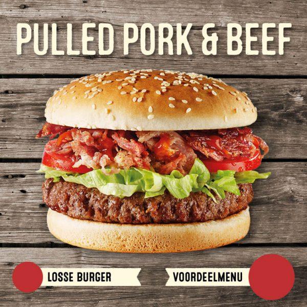 Pulled Pork & Beef