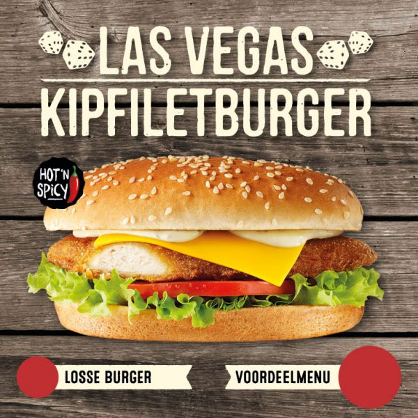 Las Vegas Kipfiletburger