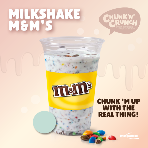 Chunk'n Crunch Milkshake M&M