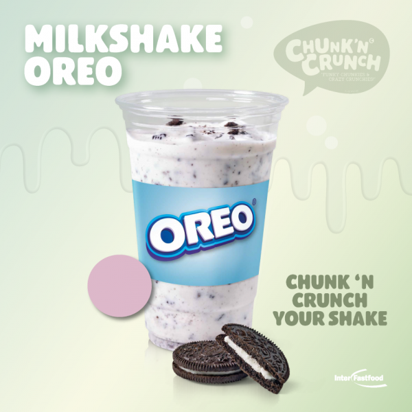 Chunk'n Crunch Milkshake Oreo