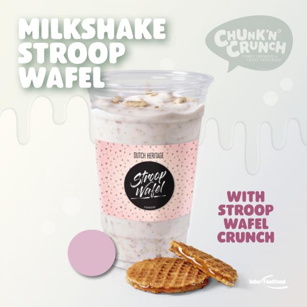 Chunk'n Crunch Milkshake Stroopwafel