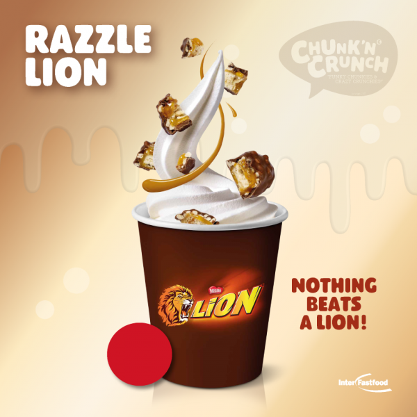 Chunk'n Crunch Razzle Lion