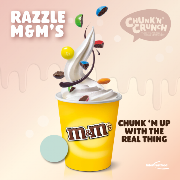 Chunk'n Crunch – Razzle M&M