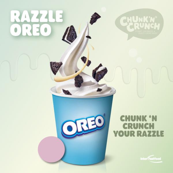 Chunk'n Crunch – Razzle Oreo