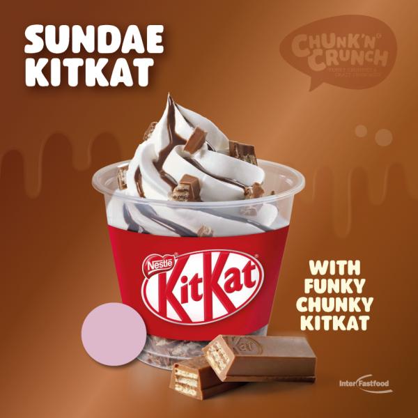 Chunk'n Crunch Sundae KitKat