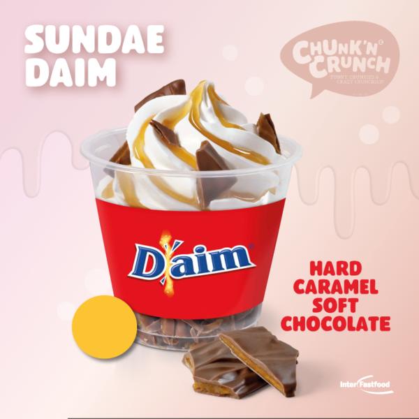 Chunk'n Crunch Sundae Daim