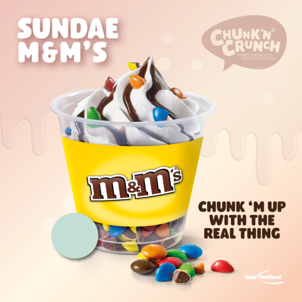 Chunk'n Crunch Sundae M&M