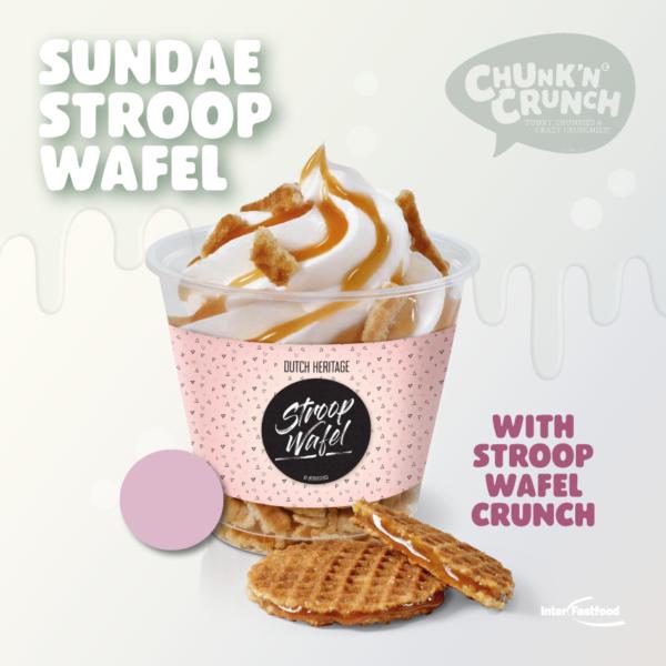 Chunk'n Crunch Sundae Stroopwafel