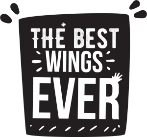 The Best Chicken Wings ever badge