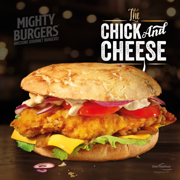 Mighty Burger – Chick n Cheese